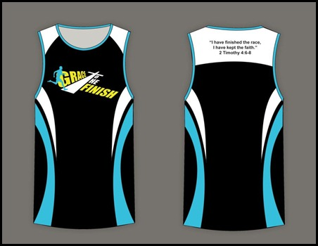 Grace to the Finish Singlet (1)