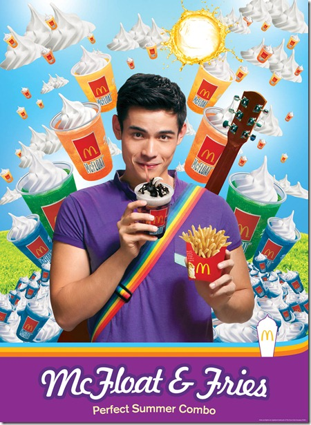 Xian Lim for McFloat Summer Medley